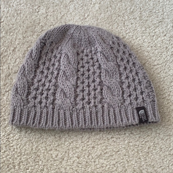 10c0ffadf6f625 The North Face Grey Cable Minna Beanie. M_5c36012d534ef97cc981ee0f. Other  Accessories you may like. North Face fleece lined knit beanie